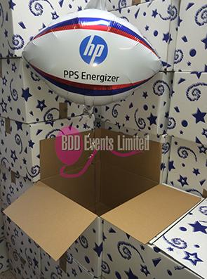 HP printed balloons