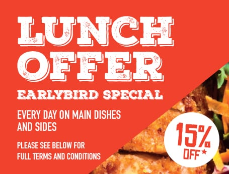 Lunch & Earlybird Special