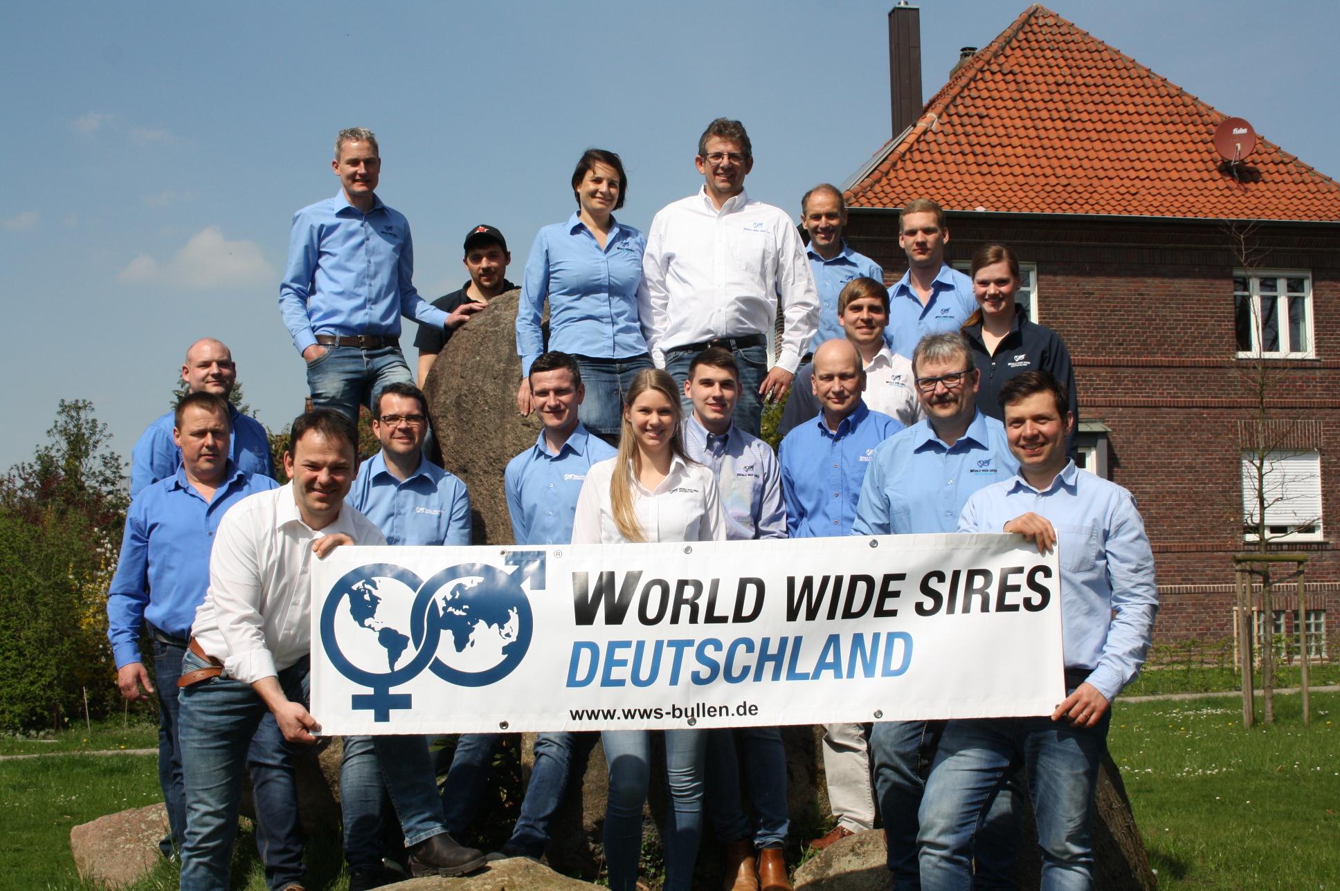 Verstärkung im Team von World Wide Sires Deutschland!