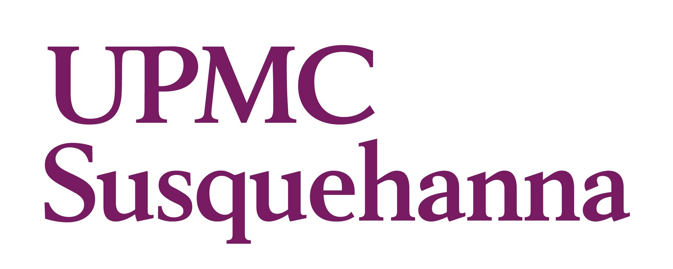 UPMC Susquehanna purple logo