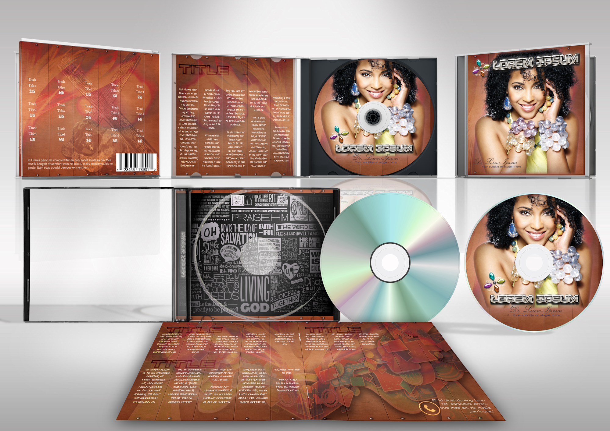 cd inlays cd cover art design