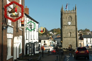 Image result for coleford clock tower christmas