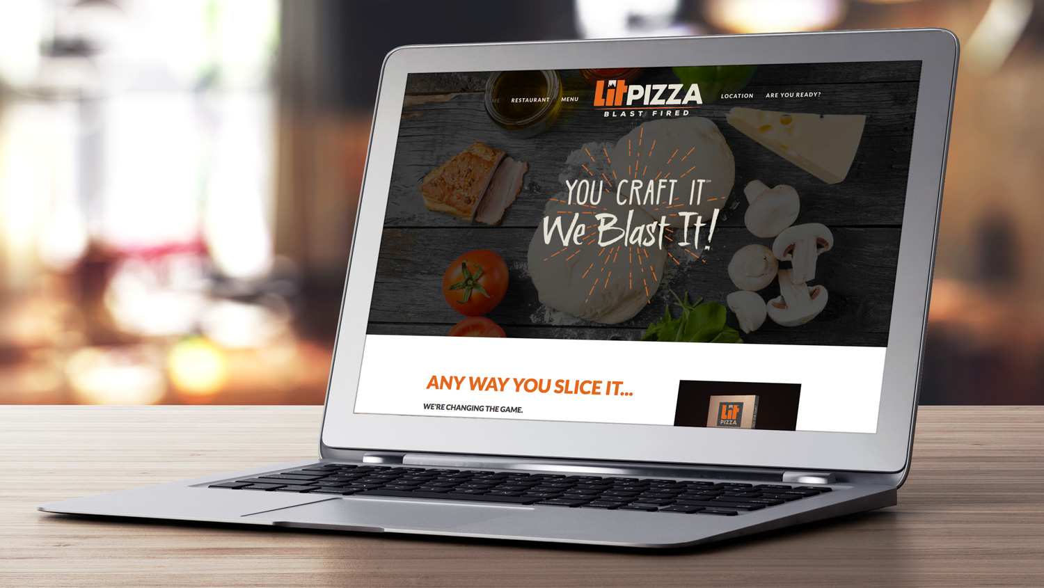 LIT Pizza | Website