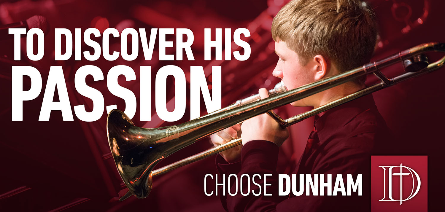 Dunham School | Discover His Passion