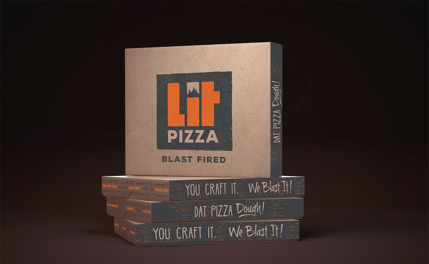 LIT Pizza | Boxes