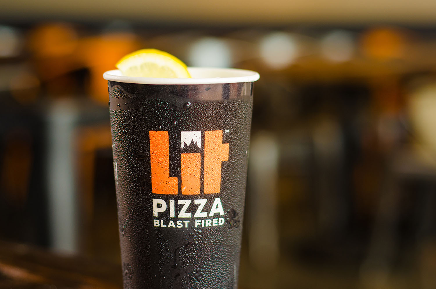 LIT Pizza | Cup