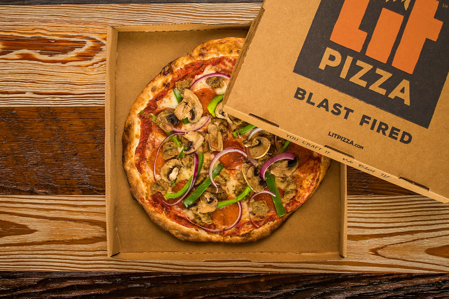 LIT Pizza | Pizza To Go