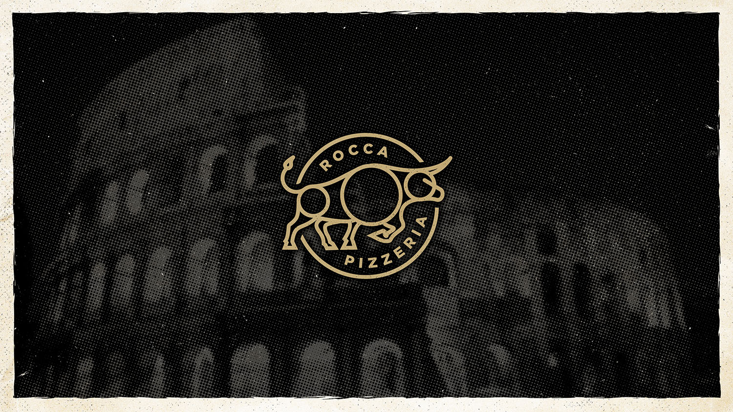 Rocca Pizzeria | Secondary Logo Mark