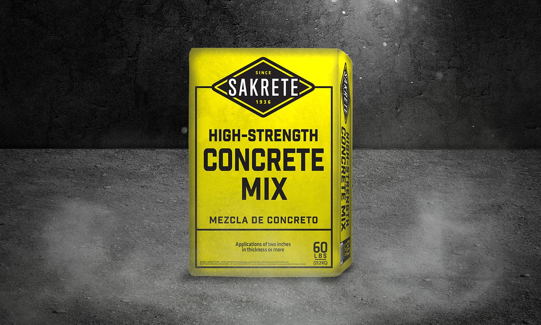 Sakrete | High Strength Concrete Mix Bag