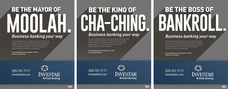 Investar Bank | Print Ads