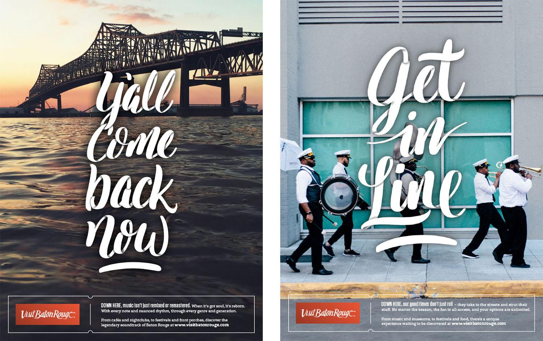 Visit Baton Rouge | 2017 Print: Get in Line
