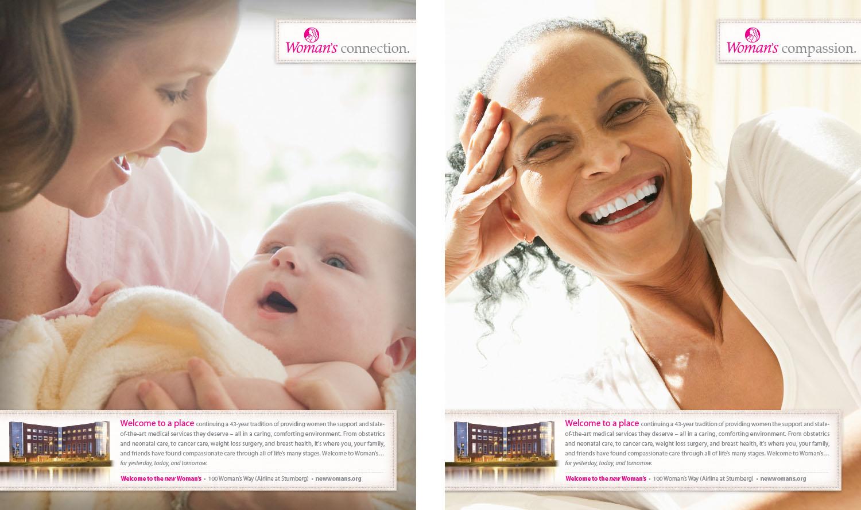 Woman's Hospital | Service Print Ads