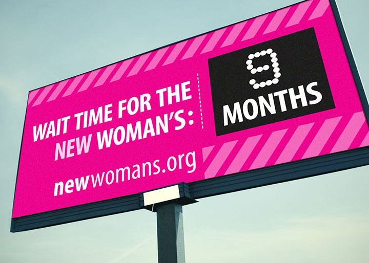 Woman's Hospital | Pink Billboard: 9 Months