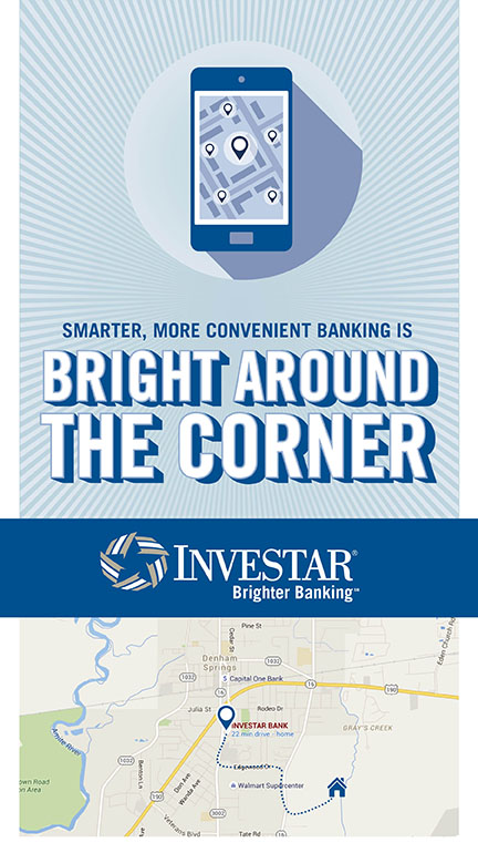 Investar | 2016 Mailer: Bright Around the Corner