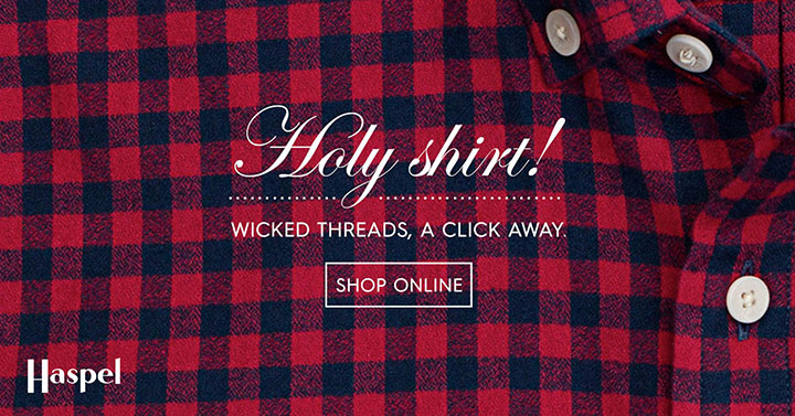 Haspel | Holy Shirt Banner