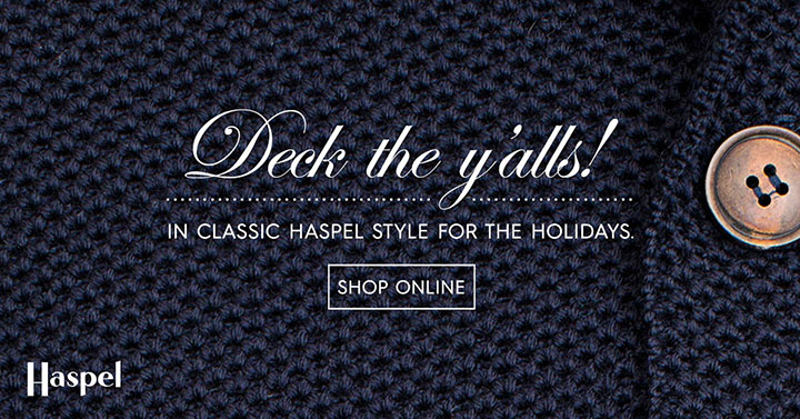 Haspel | Deck the Y'alls! Banner
