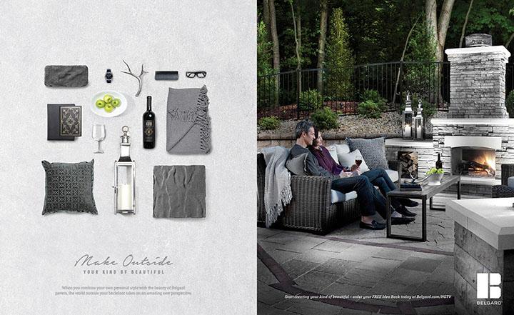 Belgard | 2016 Knolling — Social Sig Print Ad