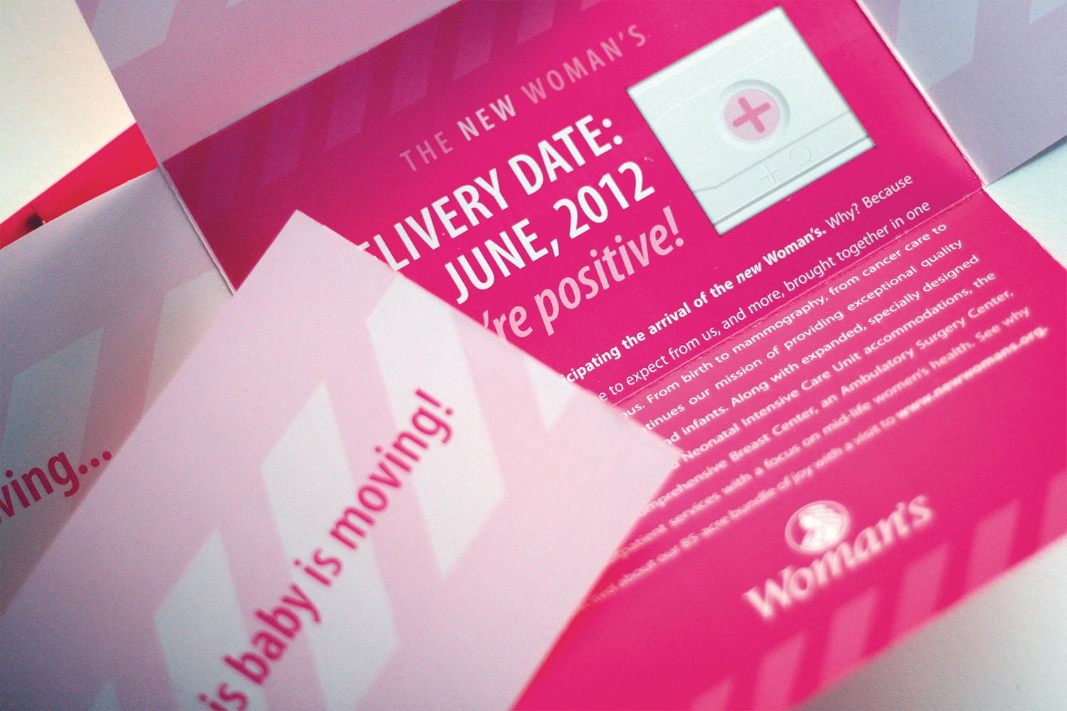 Woman's Hospital   Pink Direct Mail-Birth Announcement