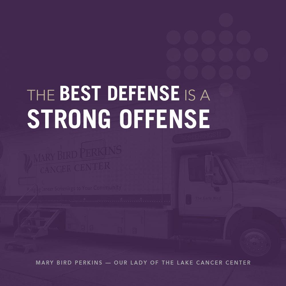 Mary Bird Perkins | Social Media: Best Defense