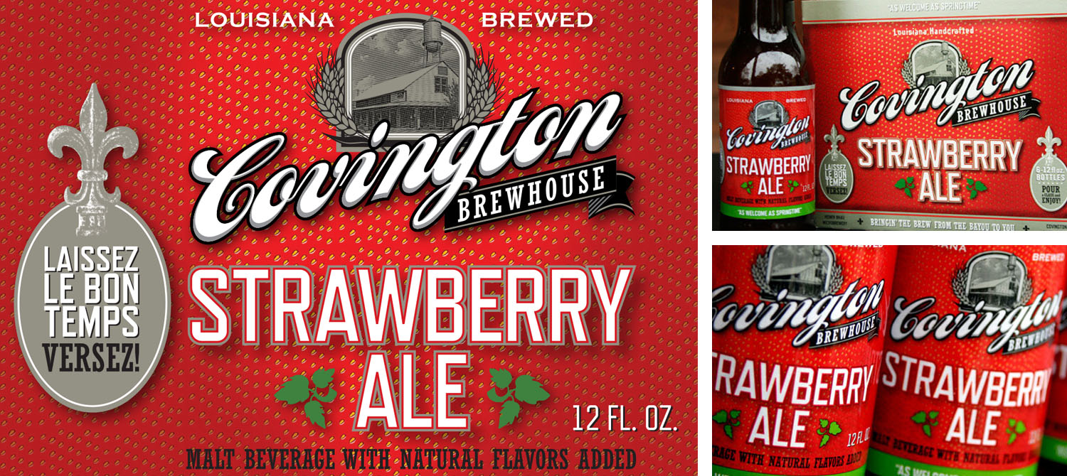 Covington Brewhouse | Strawberry Ale