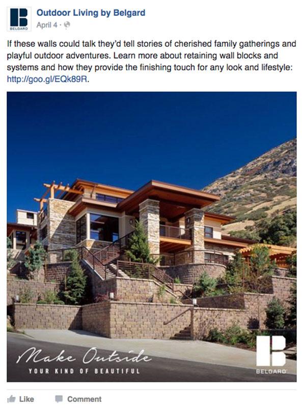 Belgard | 2016 Social Media: Desert House