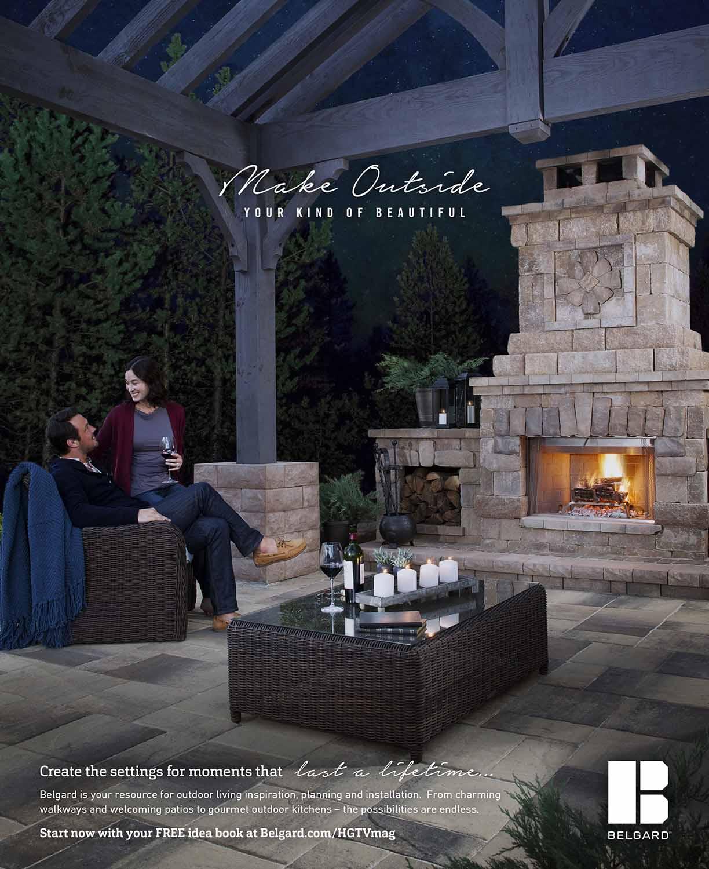 Belgard | 2017 Print: Fireplace