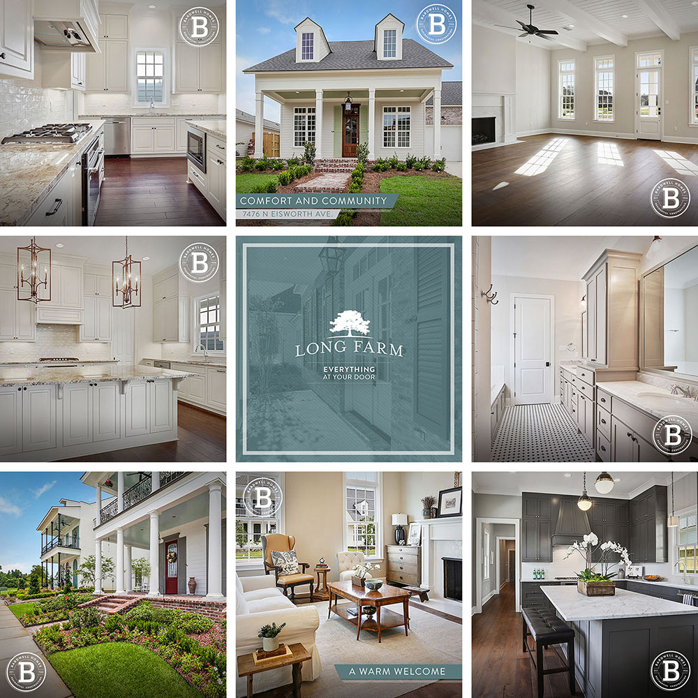 Bardwell Homes | Social Media Grid