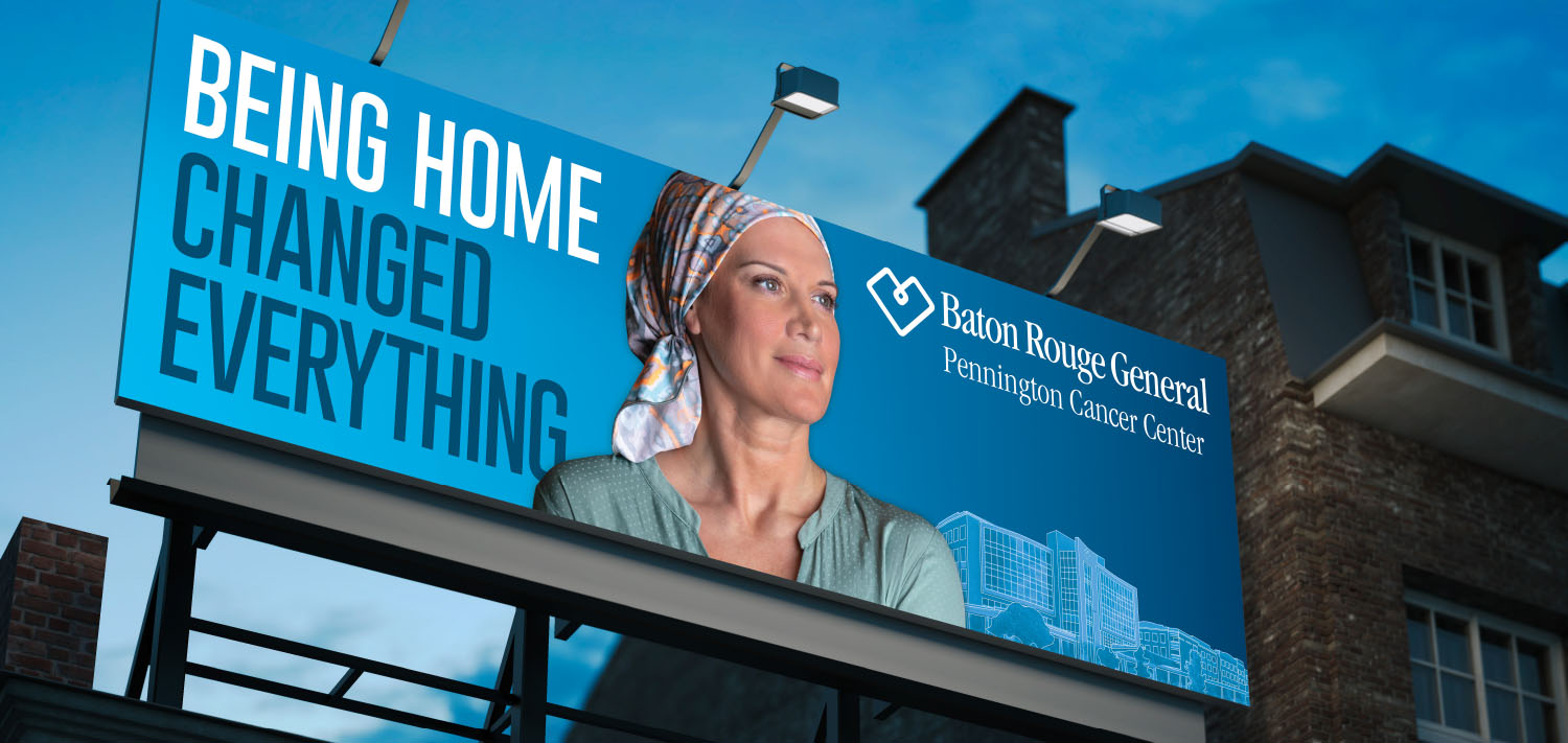 Baton Rouge General | Billboard Being Home