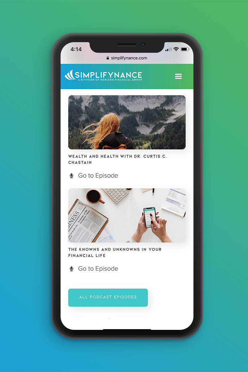 Simplifynance | Mobile 2