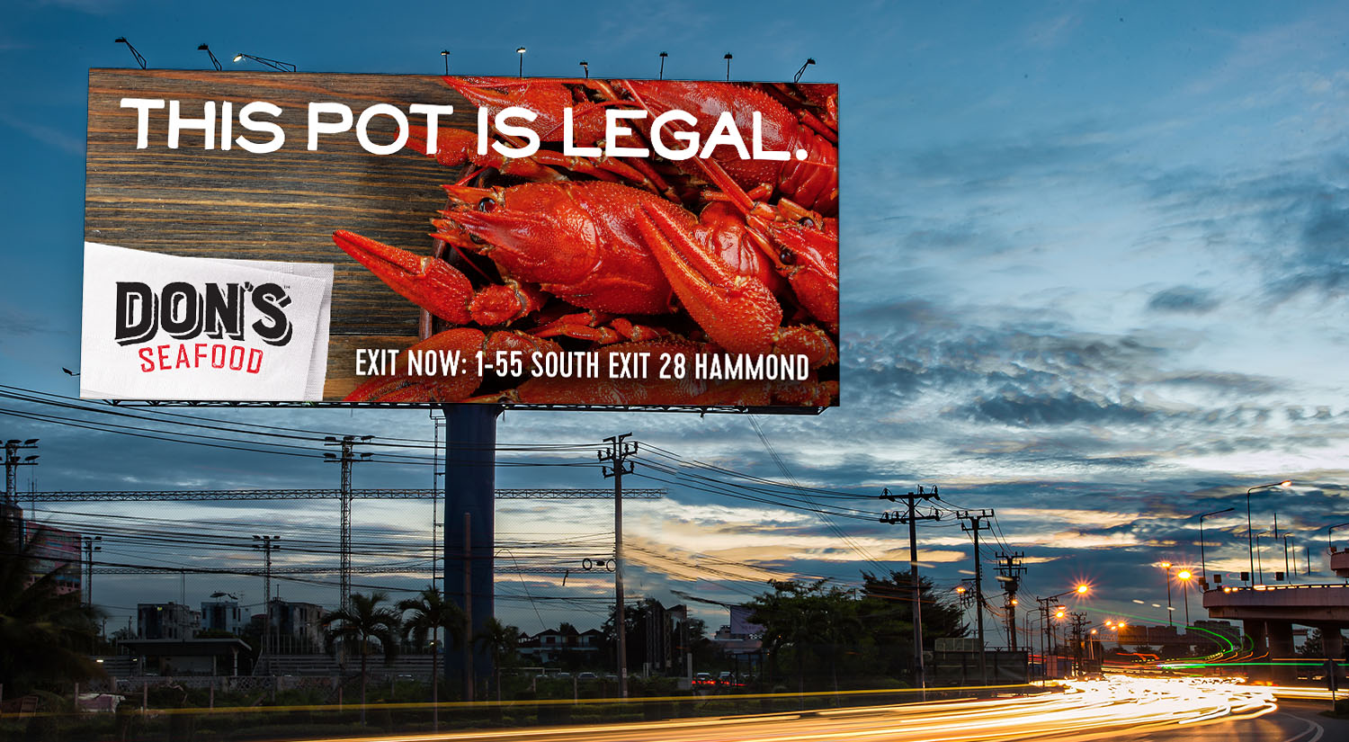 Don's Seafood   Outdoor: This Pot is Legal