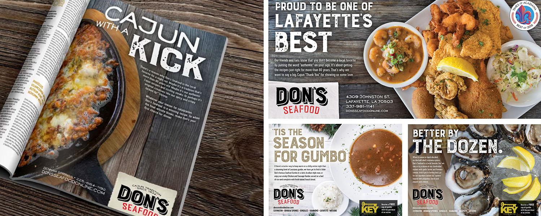 Don's Seafood | Print: Magazine