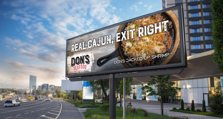 Don's Seafood   Outdoor: Real Cajun