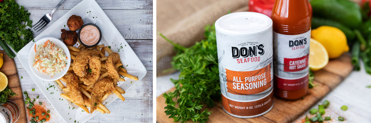 Don's Seafood | Seasoning and Sauce