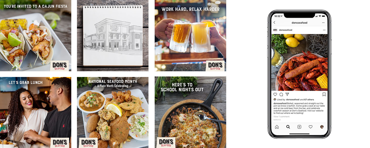 Don's Seafood | Social Media