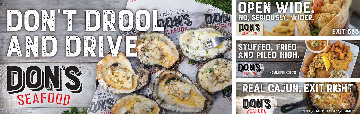 Don's Seafood | Outdoor: Don't Drool and Drive