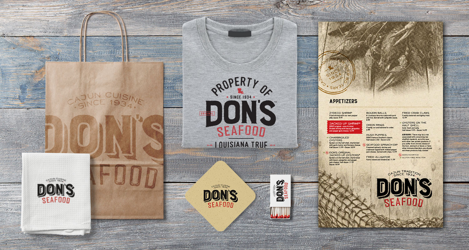 Don's Seafood | Swag