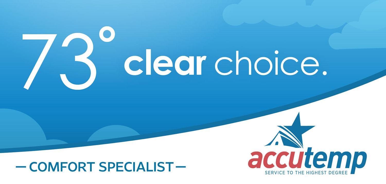 AccuTemp   Billboard: 73 and Clear