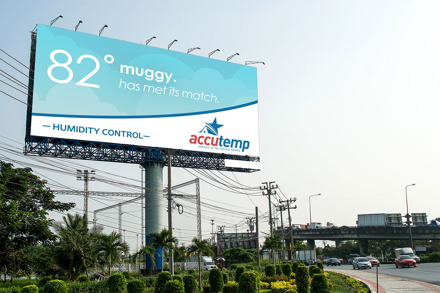 AccuTemp | Billboard: 82 and Muggy