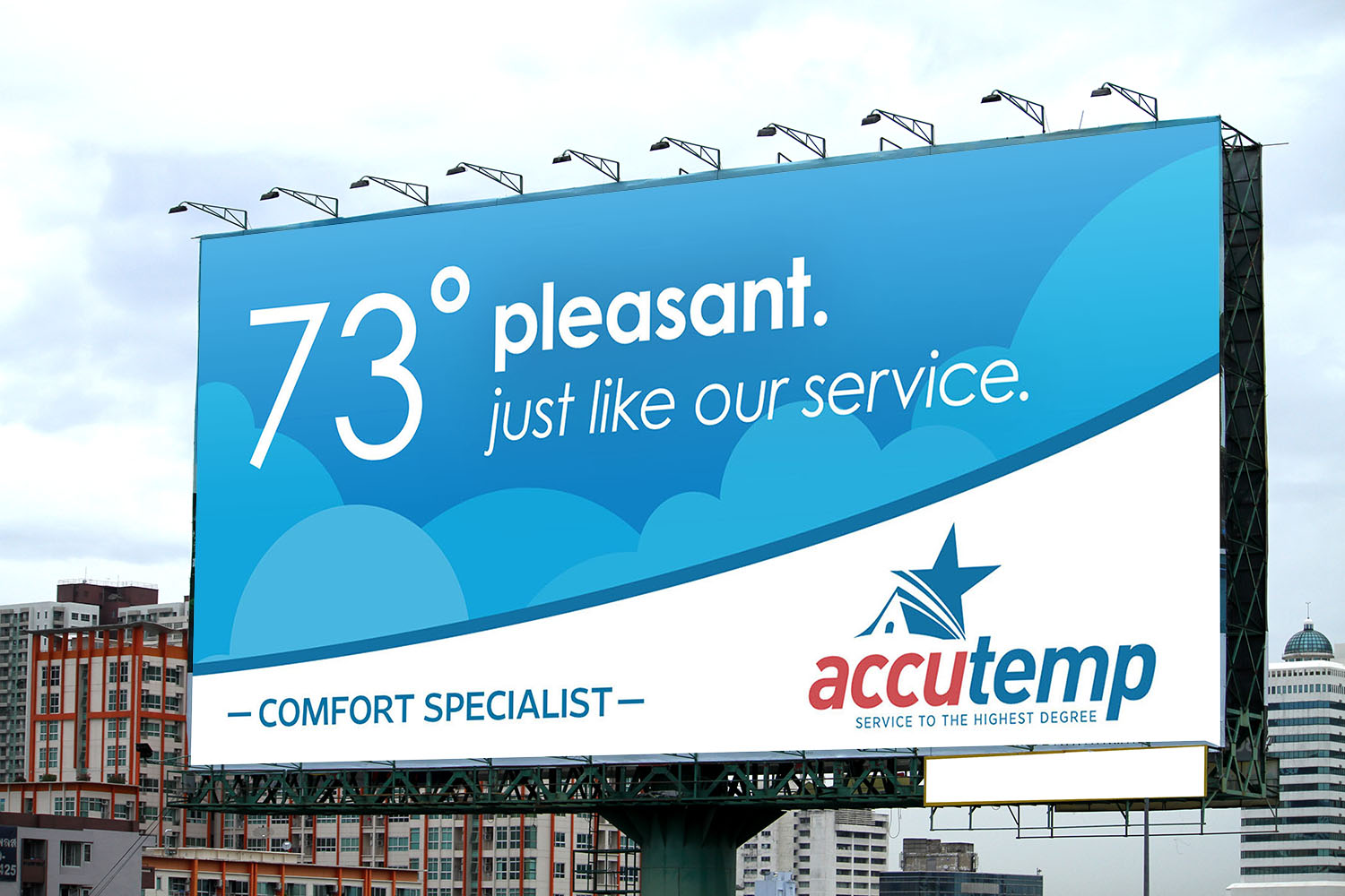 AccuTemp | Billboard: 73 and Pleasant