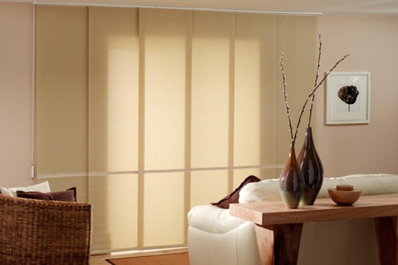 Sandy brown Panel Blinds