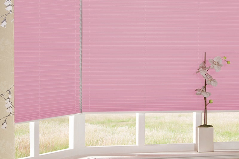Pleated Blinds Twilight Esp Blush Pink
