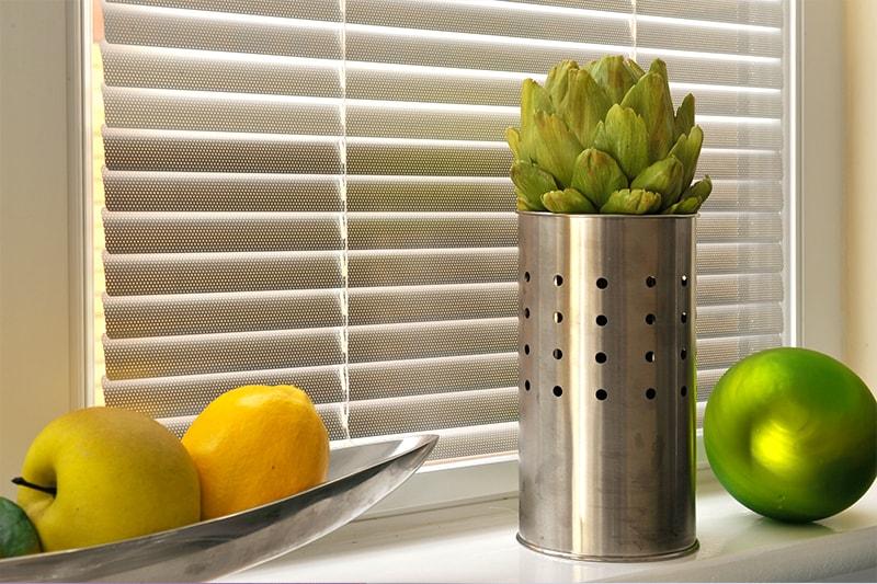 Aluminium Venetian Blinds Kitchen