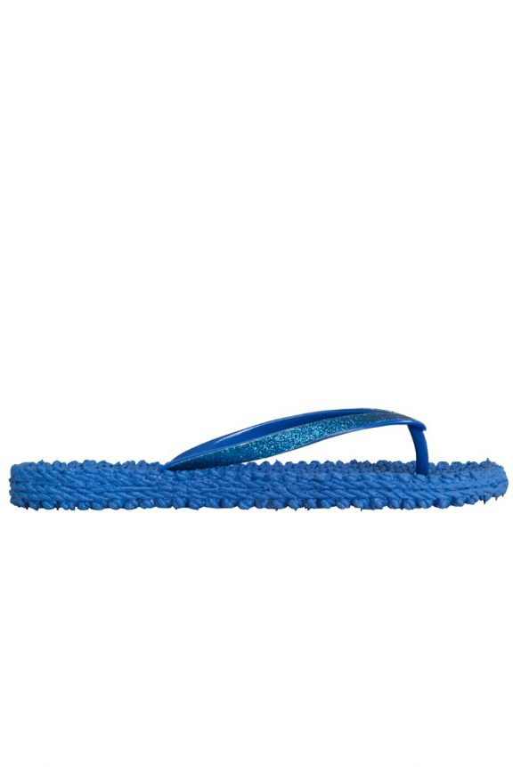 Cheerful slippers, direct blue