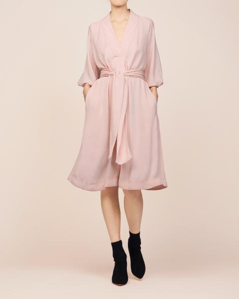 Drape a-line dress