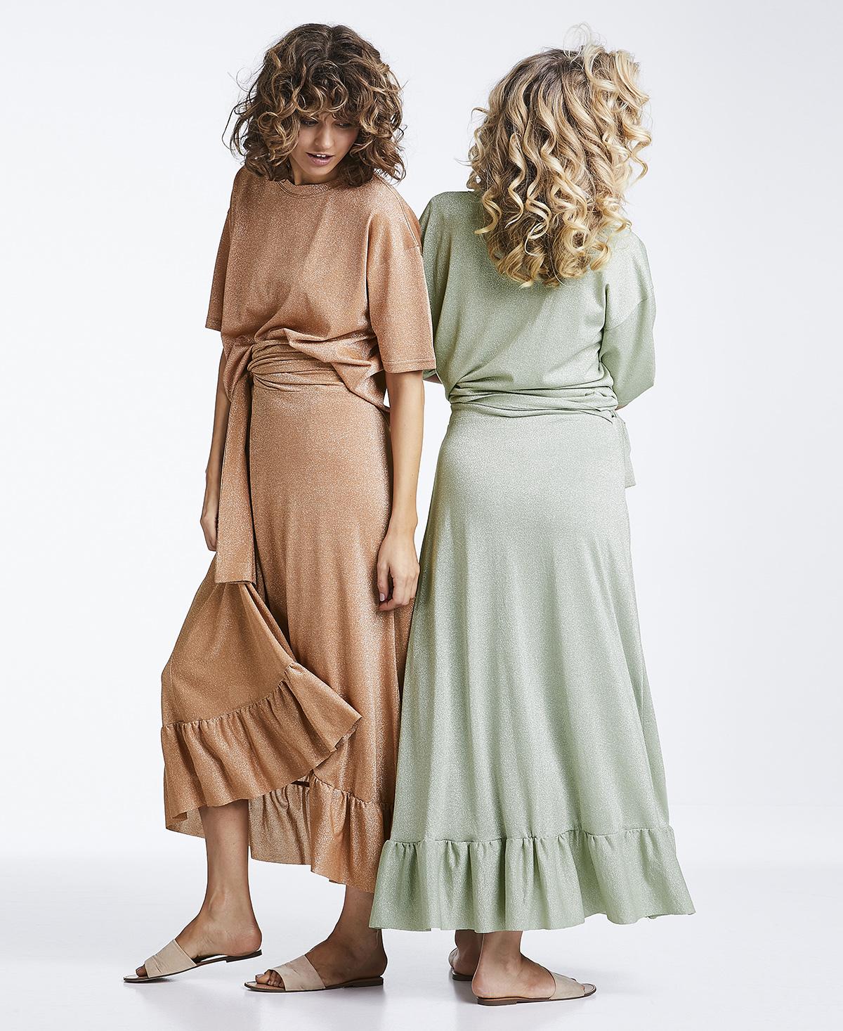 Magic lurex skirt