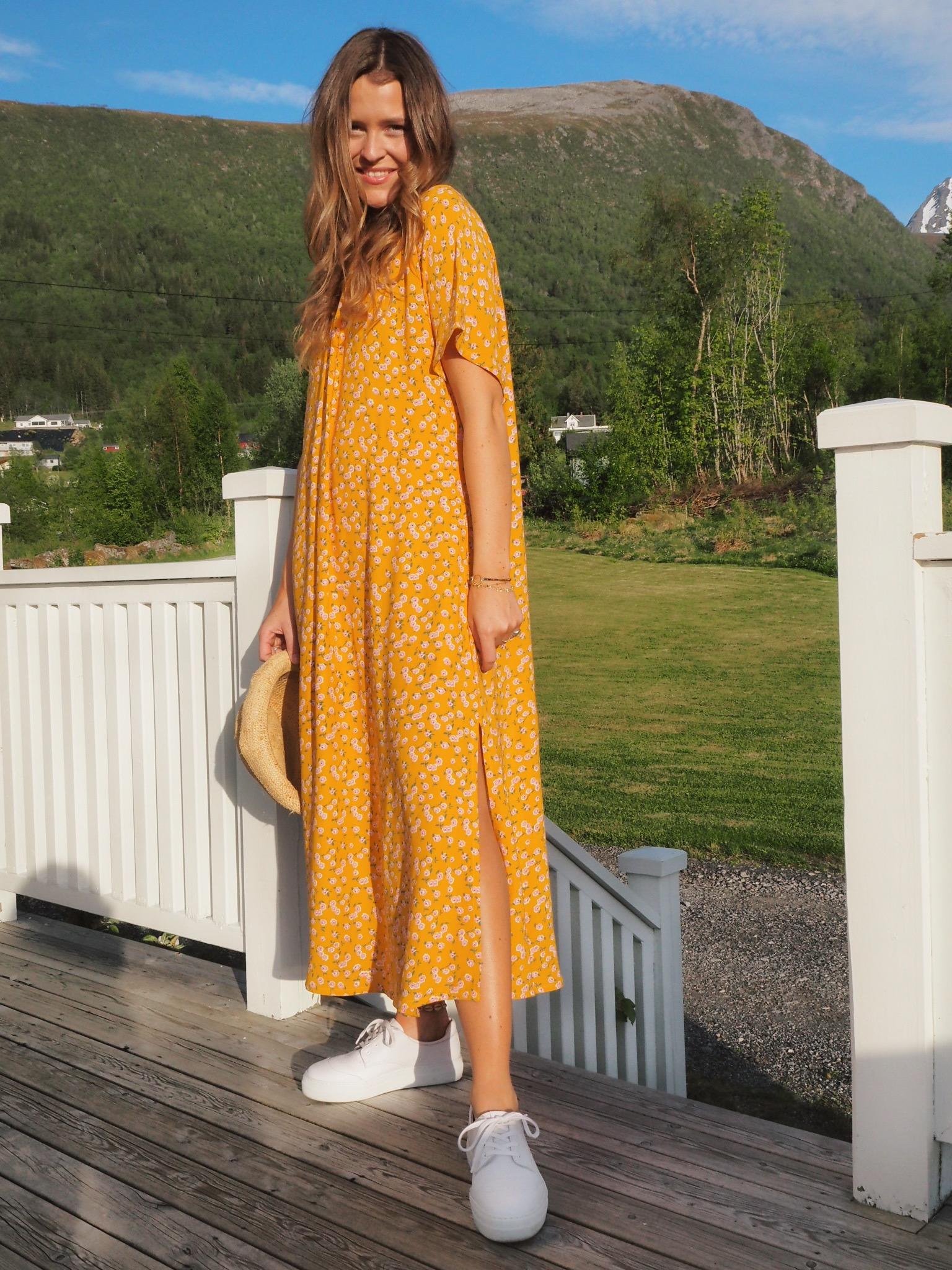 Vintage drape shift dress