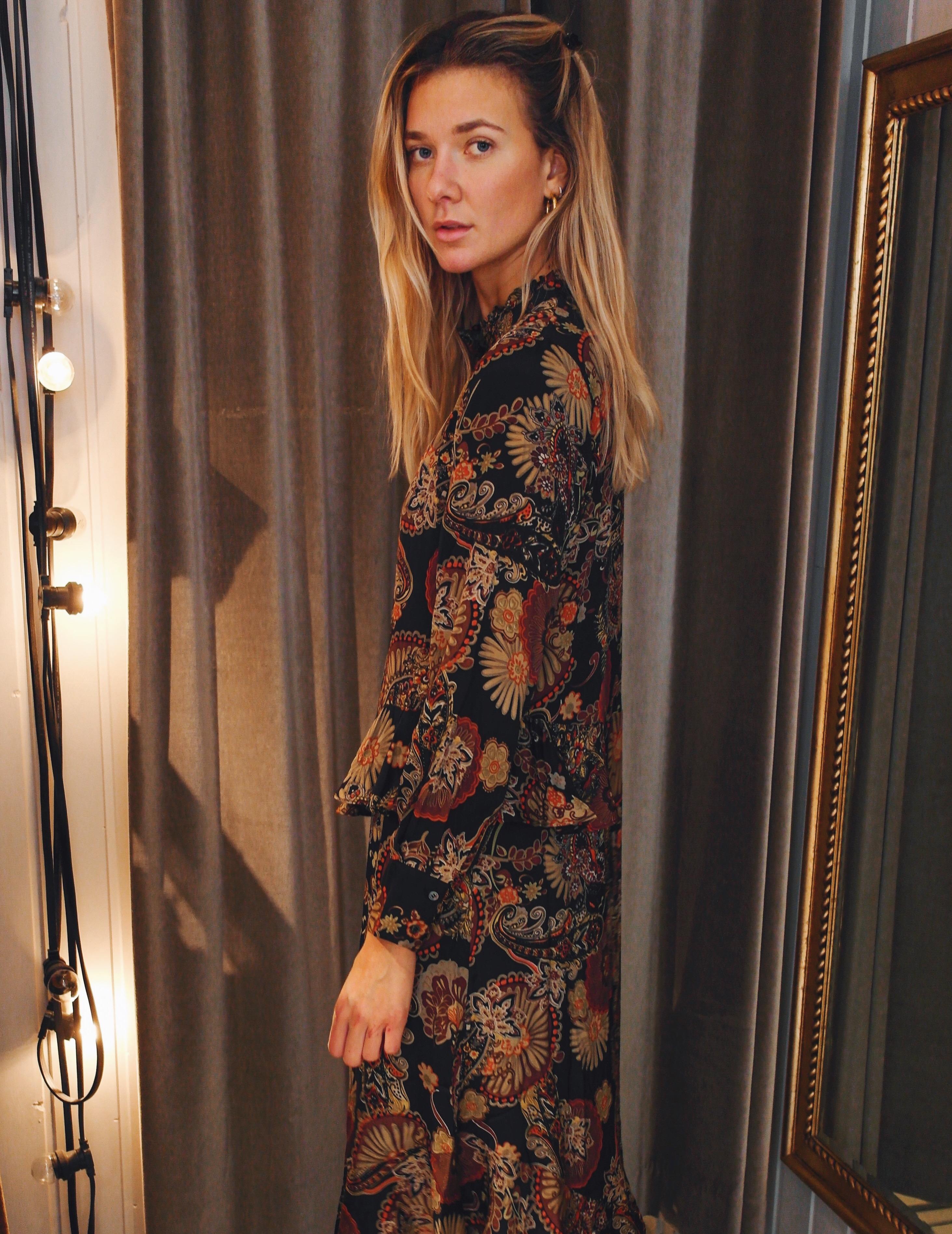 Harper Paisley Dress
