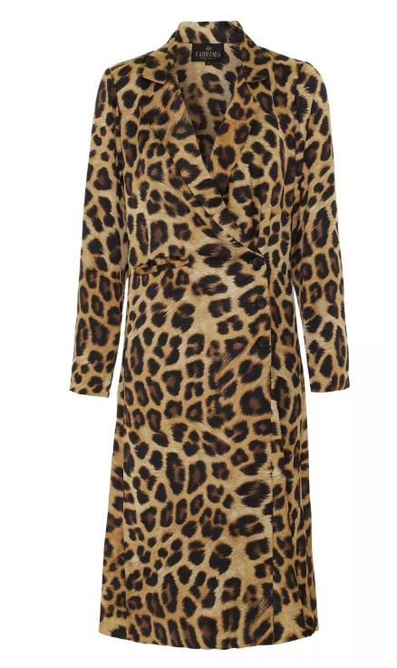 Blazer Dress Leopard