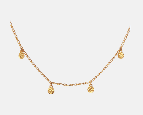 Tanina Necklace Gold
