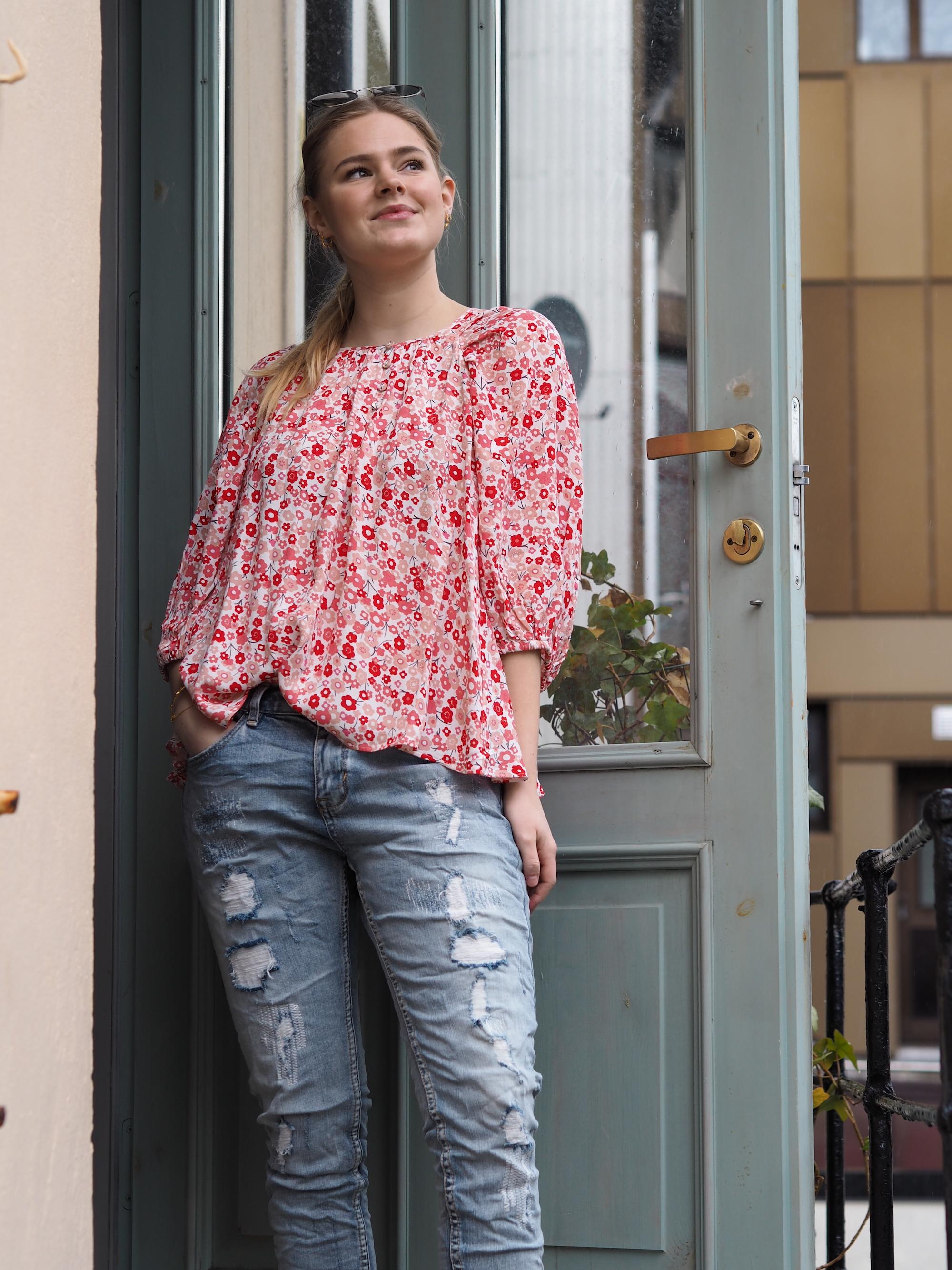 Mattie shirt denim Frøken Frøland